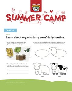 Show-and-tell is a quintessential summer camp activity. This week, HOPE Scholar Shila walks us through all the ways their family gives cows TLC. Summer Camp Activities, All The Way, Show And Tell, Cows, Walks, At Least, Learning, Day, Teaching