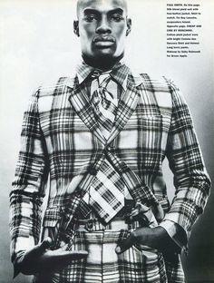 TBT: Tyson Beckford in 1994 Fashion Spread for Mondo Uomo It  image Tyson Beckford Editorial Photos 006 800x1058