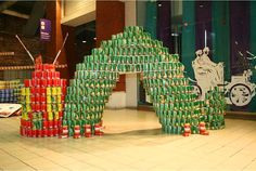 Canstruction: Amazing Sculptures Made From Canned Goods | Inhabitat - Sustainable Design Innovation, Eco Architecture, Green Building
