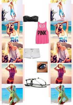 """Spring Break outfit of choice"" by madeinadream ❤ liked on Polyvore"