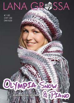 Lana Grossa OLYMPIA Folder-SNOW & PIANO | FILATI.cc WebShop
