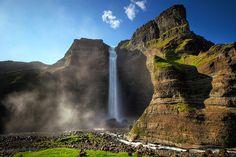 Háifoss, Iceland.