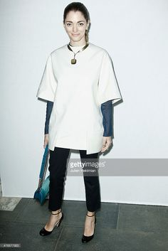 Sofia Sanchez Barrenechea attends the Gaia Repossi's Jewelry Collection launch at Jeu de Paume as part of the Paris Fashion Week Womenswear Fall/Winter 2014-2015 on March 3, 2014 in Paris, France.