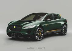Lister SUV-E Concept is opgepepte Jaguar I-Pace Jaguar Cars, Car Stuff, Motor Car, Toyota, Concept, Vehicles, Electric Motor, Car, Automobile