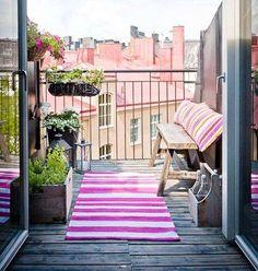 creative deck ideas balcony