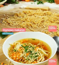 Polish noodle. You only need 2 ingredients. Flour, eggs and some salt.