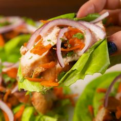 Eating healthy isn't so bad with these very quick and super tasty Thai Lettuce Cups!