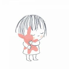 (illustration by Jane Massey) Sweet Drawings, Easy Drawings, Doodles, Children's Book Illustration, Illustration Children, Portrait Illustration, Cute Cartoon, Cartoon Faces, Cute Art