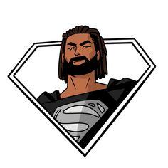 Art by Richard Brown Superman Drawing, Superman Art, Drawings, Brown, Inspiration, Image, Smile, Block Prints, Sketches