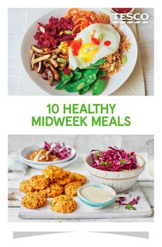 Give yourself a delicious boost with our healthy midweek meals. From brown rice bibimbap to our lighter take on shepherd's pie, these quick and easy recipes are packed fresh ingredients and punchy flavours. | Tesco