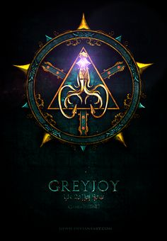 House Greyjoy ~ Game of Thrones Fan Art by Jie Feng