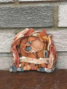 Inspired by my home. Vancouver Island B. Wood Creations, Polymer Clay Creations, Sculpture Clay, Sculptures, Drift Wood, Fairy Doors, Fairy Land, Vancouver Island, Paint Ideas