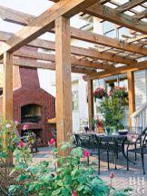 Outdoor Kitchen Ideas Brick Oven Outdoor, Diy Outdoor Fireplace, Outdoor Stove, Brick Built Bbq, Brick Bbq, Masonry Bbq, Bbq World, Backyard Bbq Pit, Bbq Chimney