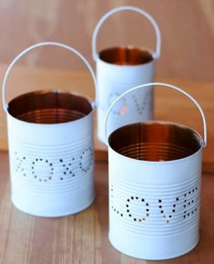 Blechdosen zum basteln oder Hochzeit 10 Stück Dosen Blechbüchsen