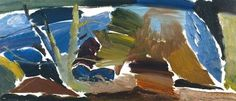 Ivon Hitchens, Divided Oaktree no. 2 on ArtStack #ivon-hitchens #art