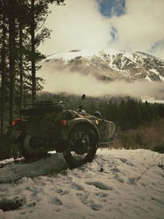 mountain adventure in the Ural with sidecar #motorcycle #motorbike