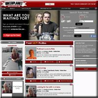 As the second premier biker singles dating community, Biker-Planet.com is always ready to amaze you with its huge member database, outstanding features and endless potential for you to find like-minded people for biker friendship, relationship and even marriage. BikerPlanet is a world famous dating website for bikers, that is to say it stands a very good chance that you hear about it even before you start finding biker dating online.  http://www.topbikerdatingsites.com/BikerPlanet.html