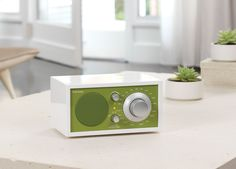 Tivoli Audio® Model One® AM/FM table radio in Frost White / Kelly Green