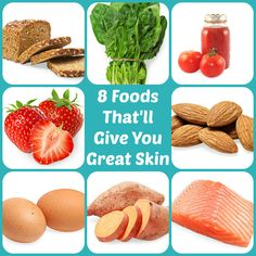 Why eating these foods will give you gorgeous skin. #Beauty #Skin