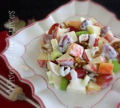 The Classic Waldorf Salad | Wives with Knives  could add curry and rice (or other grain), and/or chicken