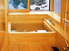 「檜風呂 浴槽」