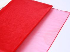 Red Hot Colored #Wedding #Organza #Fabric Decor 28x6 Yards  http://www.tulleshop.com/Red-Wedding-Organza-Fabric-Decor-28x6-Yards-p/xb13712.htm