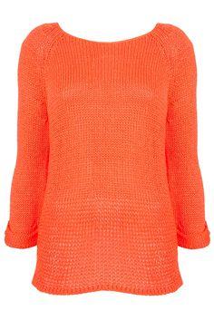 favorite summer knit - so bright neon in person - love it!