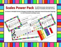 Scales Power Pack (orff, boomwahckers, bells, recorder and voice)