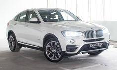 La nuova BMW #X4. La trovi sul nostro sito #DriveK.