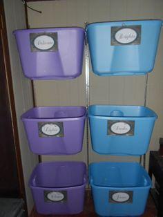 The Reality of Organization: Laundry Organization Rack