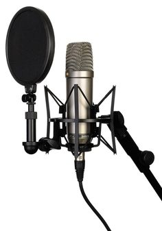 """The RØDE NT1-A 1"""" cardioid condenser microphone has become an industry standard; delivering the warmth, extended dynamic range, clarity and high SPL capability typically only featured on some of the w"""
