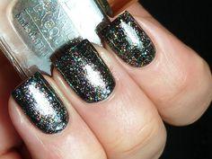 gorgeous! Born Pretty Store Glitter Gray!