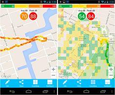 """pollution sonore"" en ville (app's) ***"