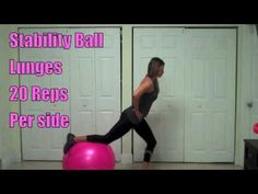 """▶ The Best Butt & ABS Workout For Women - YouTube Love this #WORKOUT that works our """"Trouble Areas"""", the """"Butt"""" & """"Belly.   Awesome """"Exercises""""."""