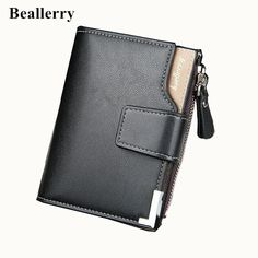 Wallet men leather men wallets purse short male clutch leather wallet mens Baellerry brand money bag quality guarantee