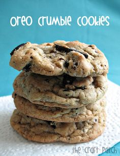 Oreo Crumble Cookies