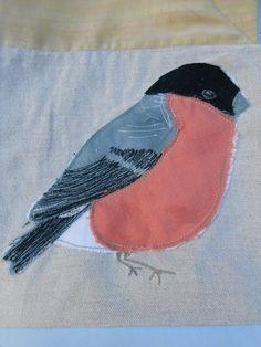 Detail from Bird Quilt  http://wonkypatchwork.blogspot.co.uk/2013/08/bird-quilt.html