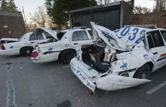 Man trashes six police cars, floods Burnaby hospital ER in destructive rampage