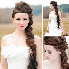 Wedding Braids inspired by The Hunger Games