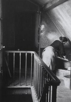 André Kertész. Washerwoman, Latin Quarter, Paris, 1928