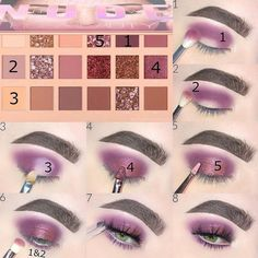 Eye Makeup Steps, Makeup Eye Looks, Makeup Tips, Beauty Makeup, Makeup Ideas, Bronze Eyeshadow, Eyeshadow Palette, Makeup Eyeshadow, Makeup Shack