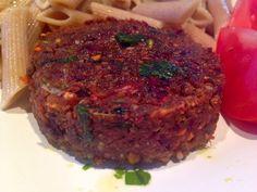 Patrícia is cooking.: Hamburgueres de couscous, legumes e shitake {vegan...