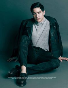 Alden Richards, Garage Magazine (December 2015) | ©MaiDen · AlDub Maine Mendoza, Alden Richards, Tv Awards, Novels, Singer, Magazine, Actors, Celebrities, Jr