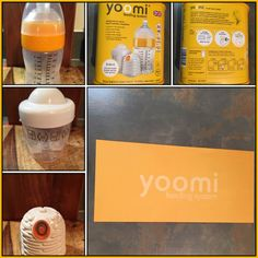 The self warming baby bottle by Yoomi !!
