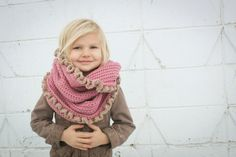 Crochet For Free: Loopy Hood Scarf with or with/out Ruffles (infinity scar) (sizes Toddler/Child and Adult)