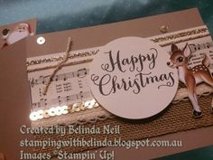 Wiper Card, Stampin' Up! Home for Christmas