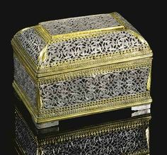 Indian Betel Box sold at Christies.
