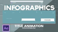 Infographics title animation in after effects using text layer and make it follow along a path Infographics title animation in after effects Keep Supporting ...