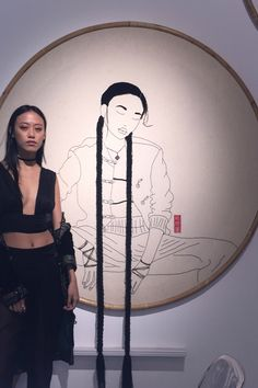 Interview With Model and Embroidery Artist Sheena Liam   Teen Vogue