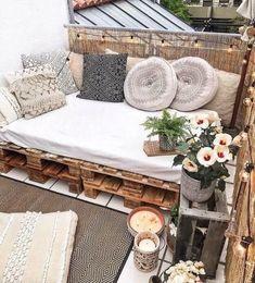 Apartment Balcony Decorating, Apartment Balconies, Apartment Living, Apartment Hacks, Sunroom Decorating, Apartment Porch Decor, Decorate Apartment, Apartments Decorating, Condo Living